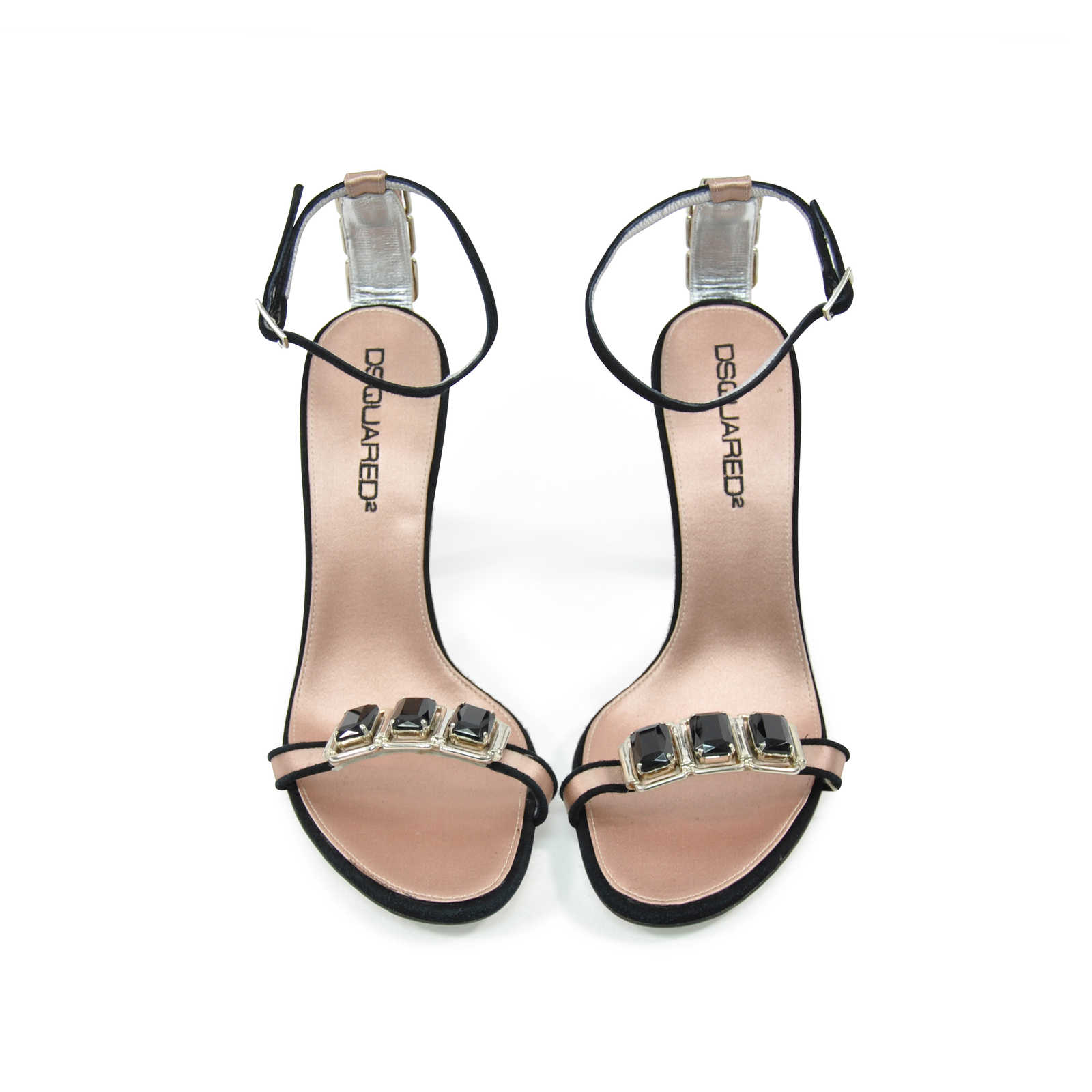 24d208832ad13c Authentic Second Hand Dsquared2 Embellished Sandals (PSS-200-00739) -  Thumbnail 0 ...