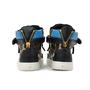 Authentic Second Hand Giuseppe Zanotti London Polka Dot Satin Hi Top Sneakers (PSS-200-00741) - Thumbnail 4