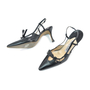 Authentic Second Hand Manolo Blahnik Pointed Slingback Pumps (PSS-295-00034) - Thumbnail 2