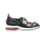 Authentic Second Hand Fendi Embellished Appliqué Slip On Sneakers (PSS-200-00745) - Thumbnail 3