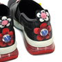Authentic Second Hand Fendi Embellished Appliqué Slip On Sneakers (PSS-200-00745) - Thumbnail 6