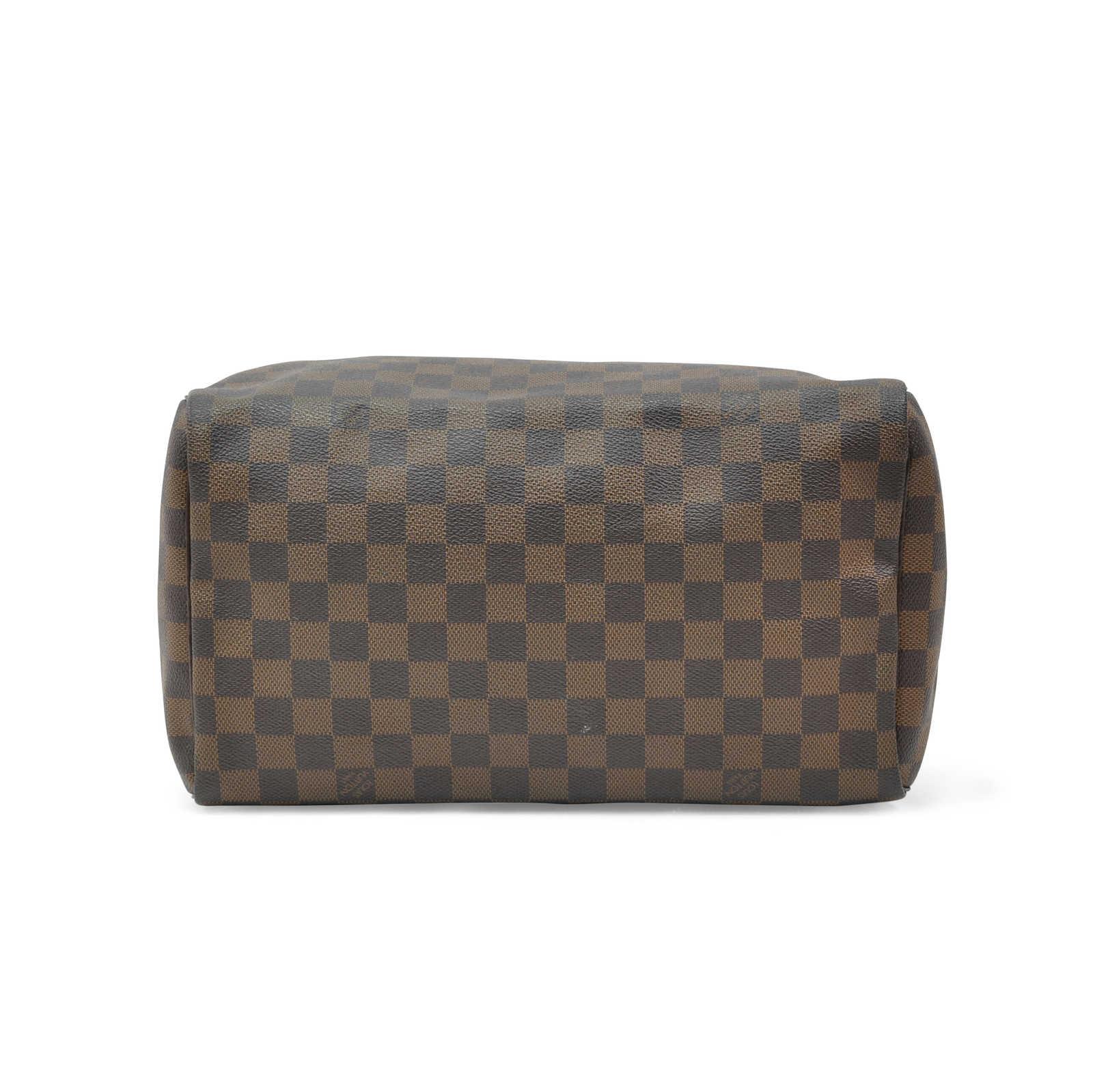 f1b0154eb74 Authentic Second Hand Louis Vuitton Damier Ebene Speedy 30 (PSS-321 ...