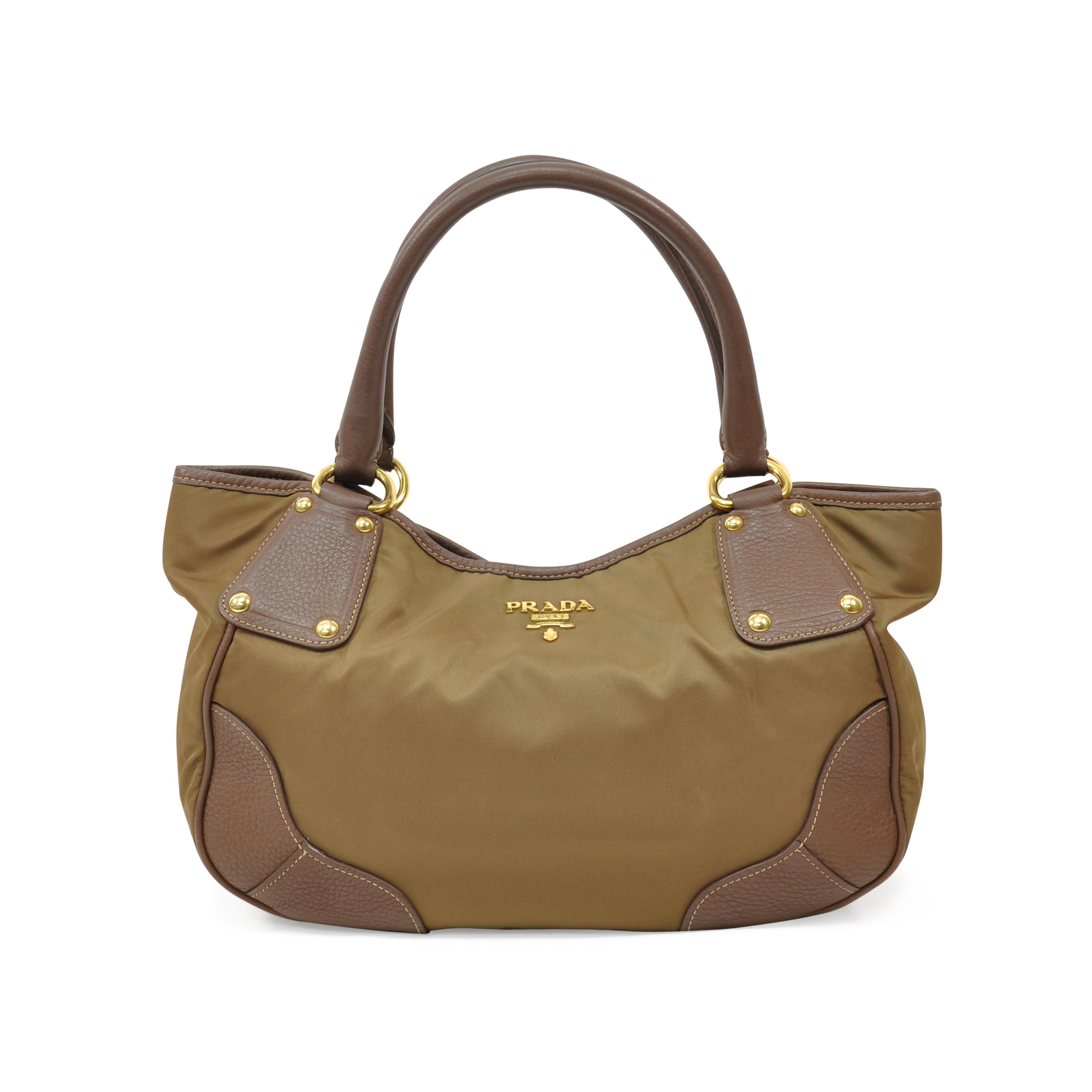 d992cce3119d Authentic Second Hand Prada Nylon Shoulder Bag (PSS-321-00002)