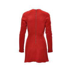 Aurelio costarella ruched sleeved dress 2?1491466668