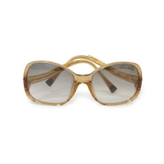 Oversized Glitter Louis Vuitton Glasses