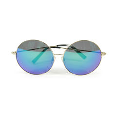 Tinted Blue Oversize sunglasses