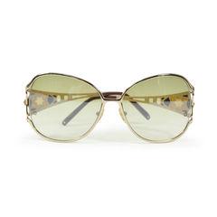 Gold Squared Sunglasses