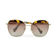Tortiseshell Trim Sunglasses