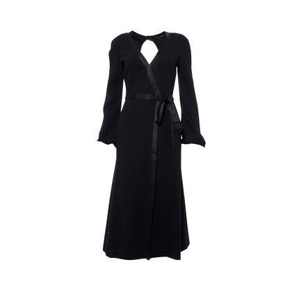Authentic Second Hand Alexander McQueen Open Back Maxi Dress (PSS-265-00112)