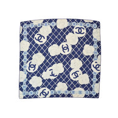 Chanel cc logo camellia scarf 2?1492572505