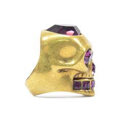 Alexander mcqueen heart skull ring 5?1492579149