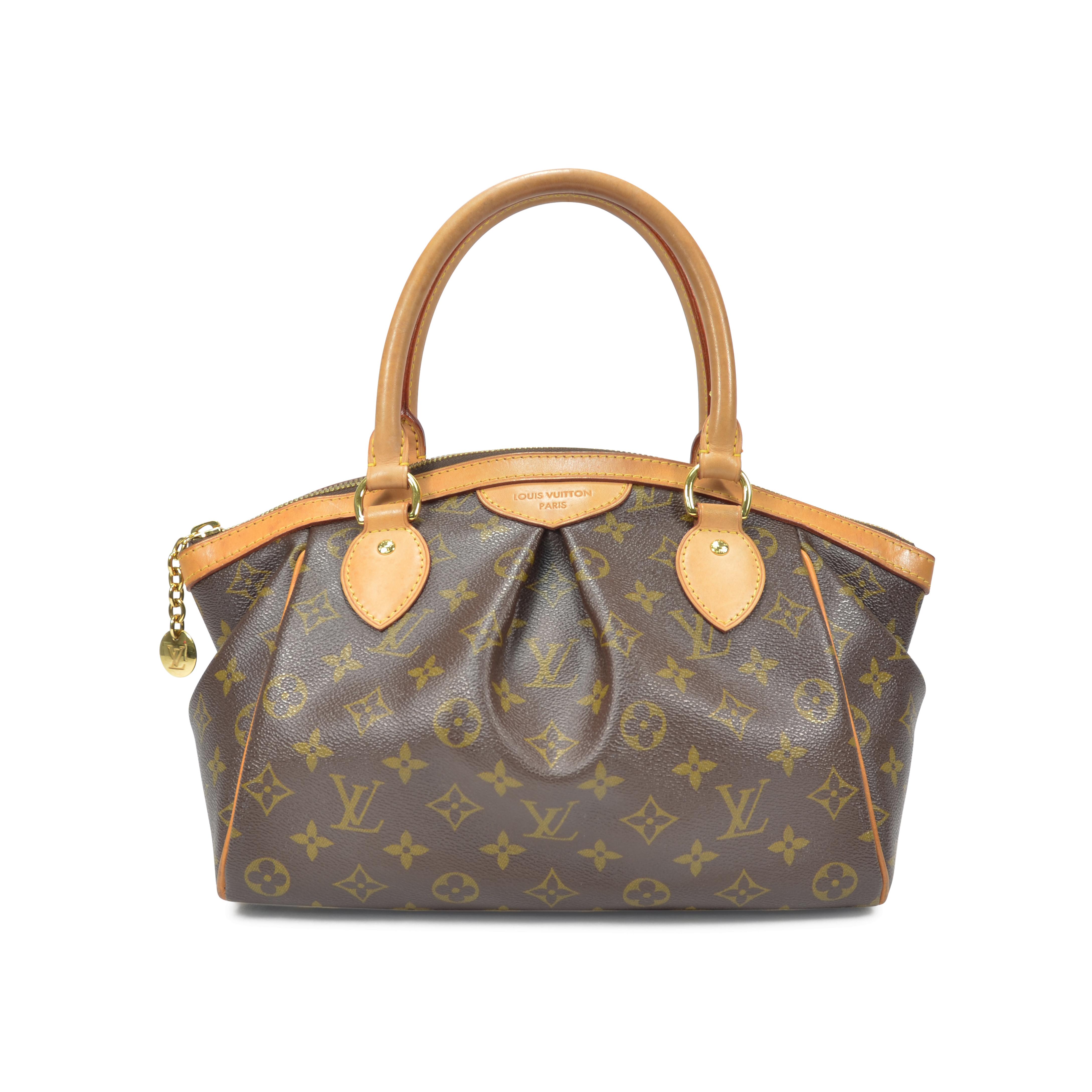 44ecc5d4a3af Authentic Second Hand Louis Vuitton Tivoli PM Monogram Bag (PSS-320-00002)