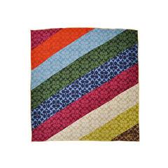 Multicolour Logo Scarf
