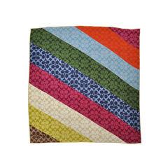 Coach multicolour logo scarf 2?1492589461