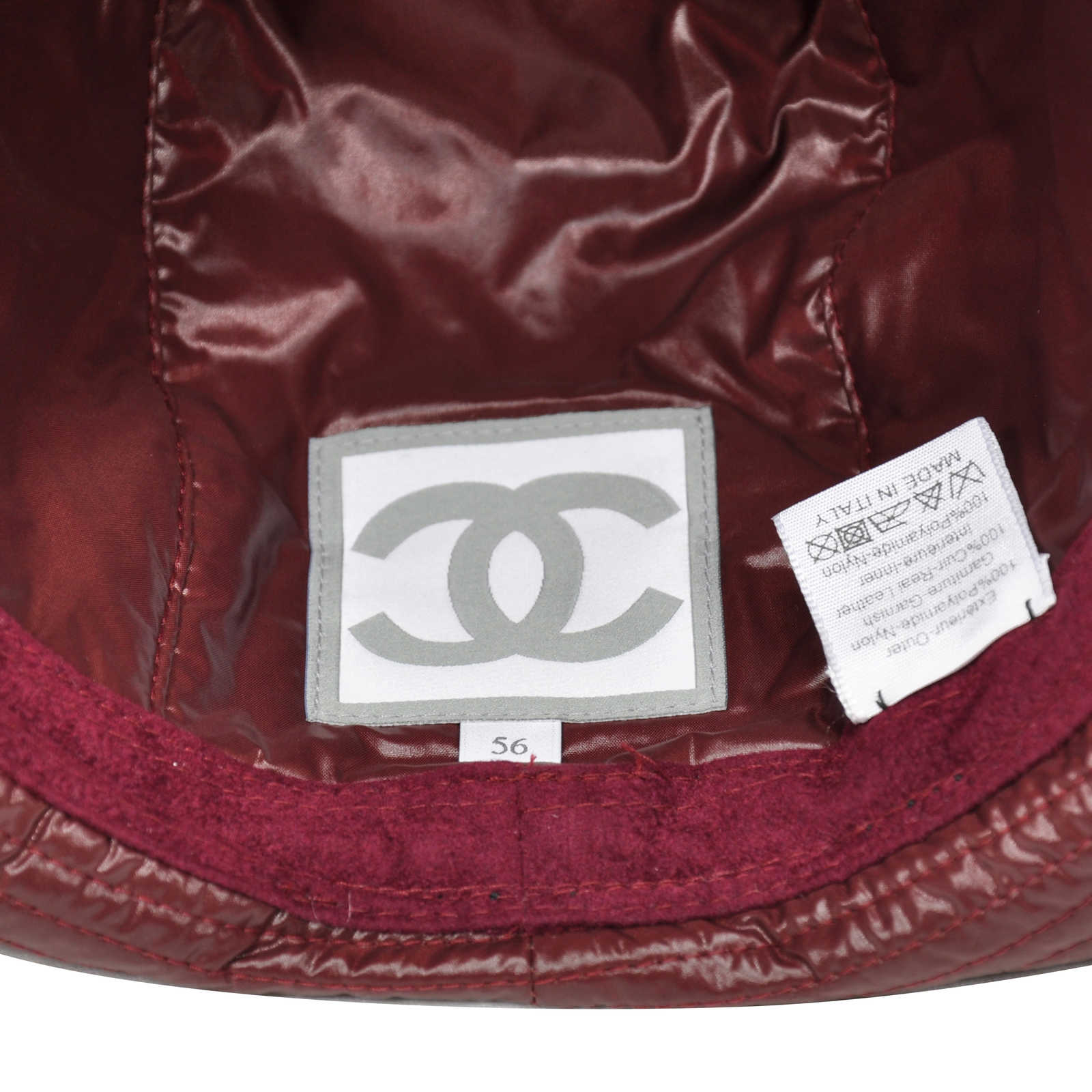 ... Authentic Pre Owned Chanel Quilted Bucket Hat (PSS-265-00159) -  Thumbnail ... ff0873d13d4