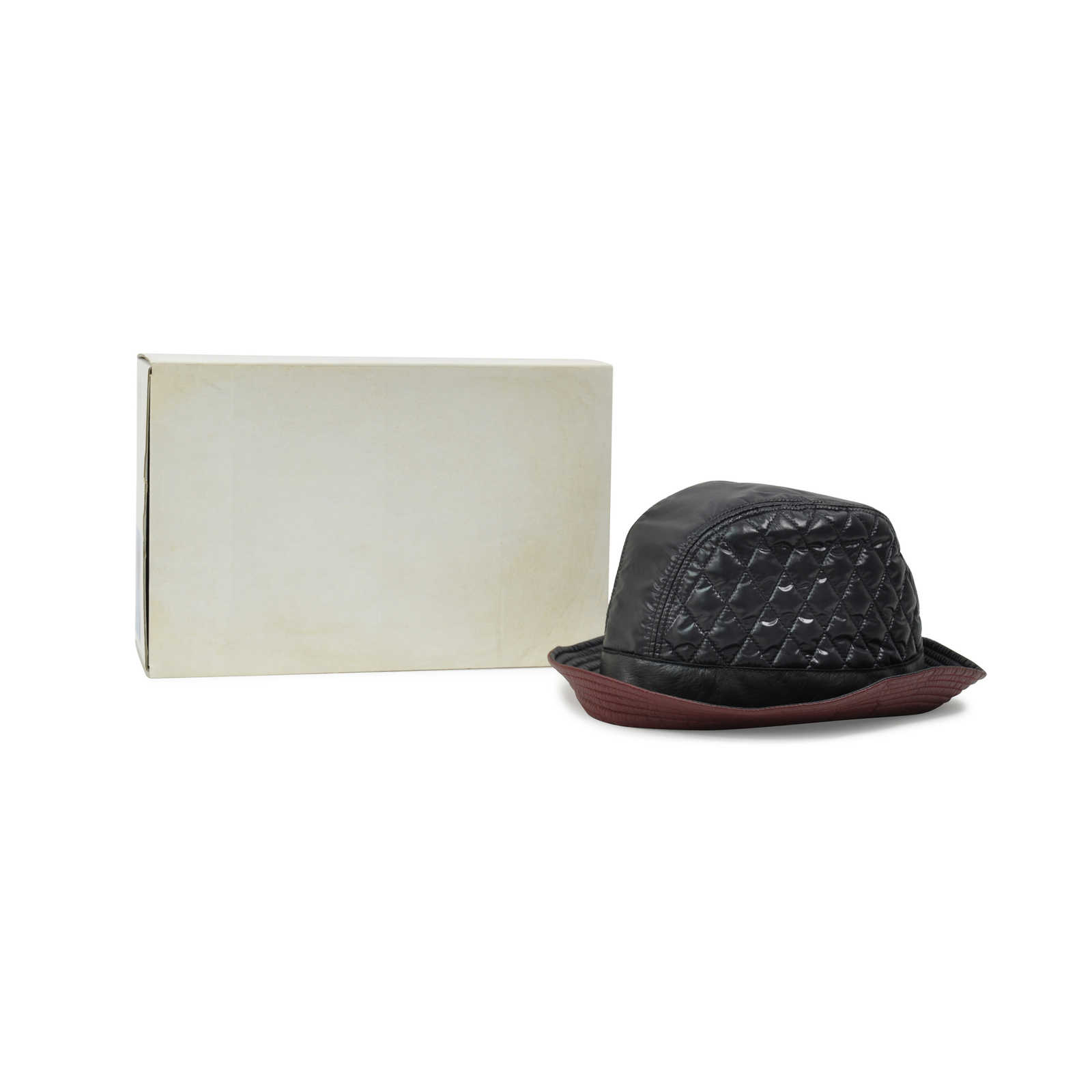 ... Authentic Pre Owned Chanel Quilted Bucket Hat (PSS-265-00159) -  Thumbnail a752ac3593e