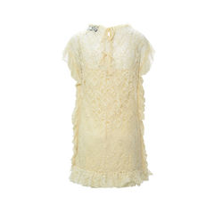 D g lace ruffle dress 2?1492664512