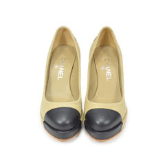 Fabric Two Tone Pumps