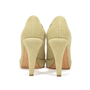 Authentic Second Hand Chanel Fabric Two Tone Pumps (PSS-327-00004) - Thumbnail 4