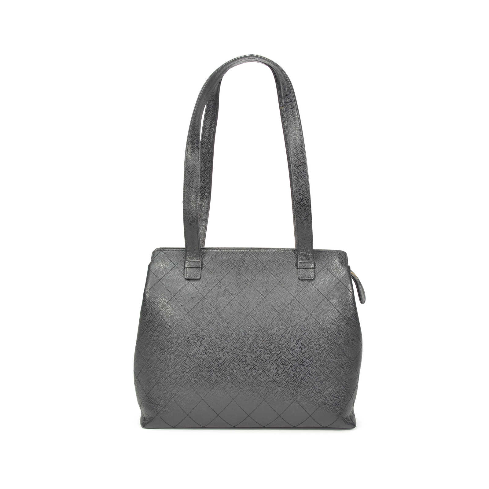 ... Authentic Pre Owned Chanel Quilted Caviar Tote Bag (PSS-327-00005) ... 62ddd12ce39eb