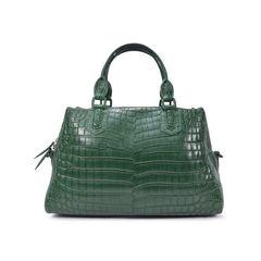 Ethan k green croco satchel 2?1493111400