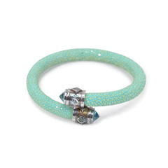 Eternity Jade Stingray Bracelet