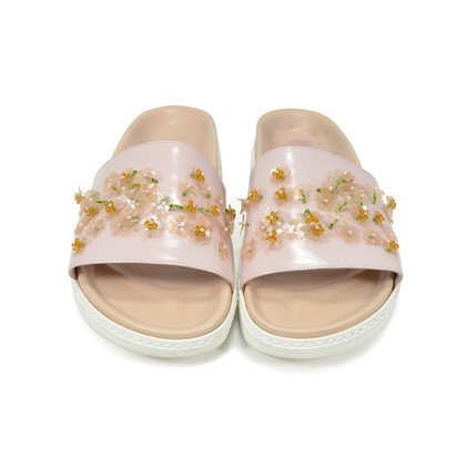 Authentic Second Hand Simone Rocha Pink Slip-on Sandals (PSS-288-00020)