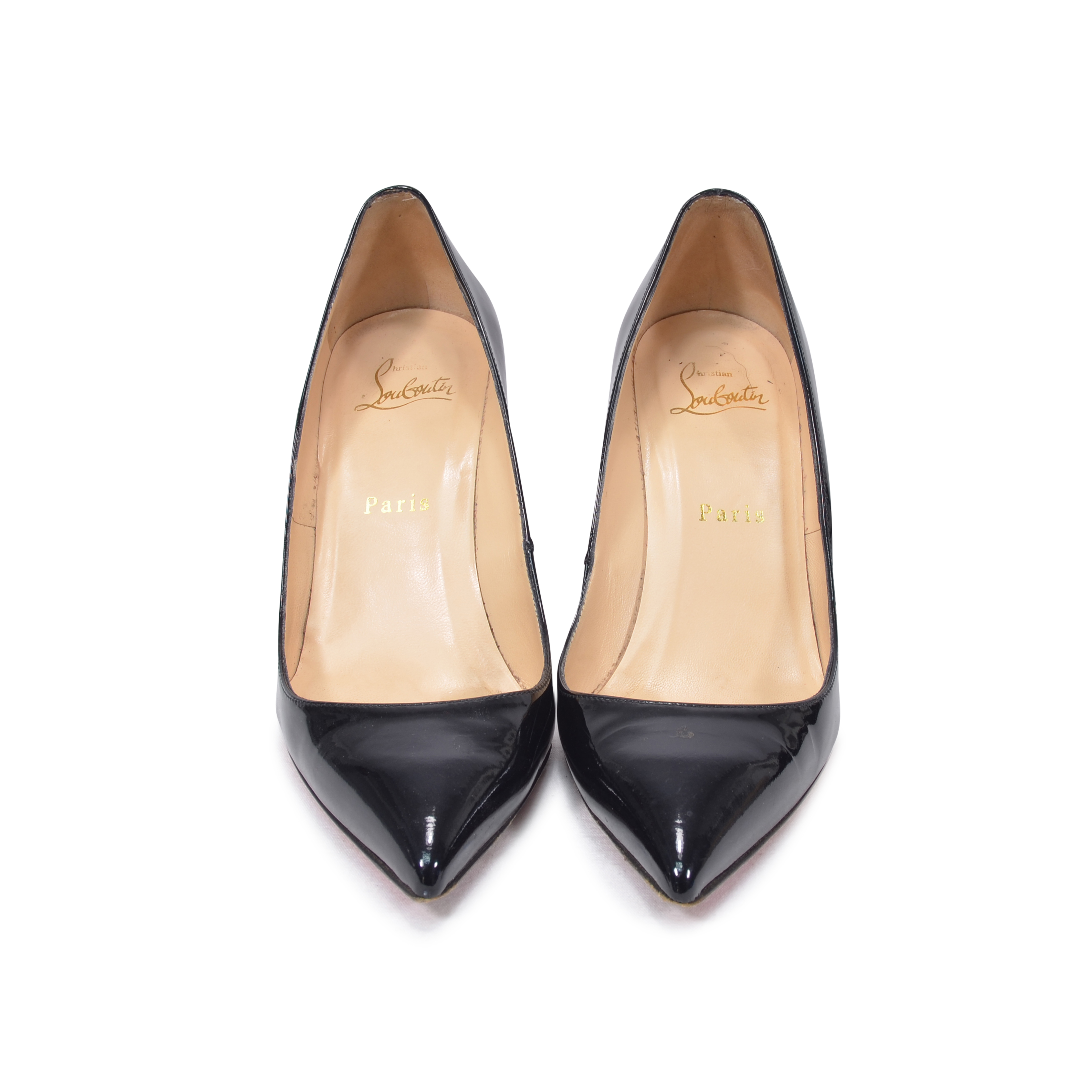 aeddf3db0d76 Authentic Second Hand Christian Louboutin Pigalle 85 Patent Pumps  (PSS-342-00003)