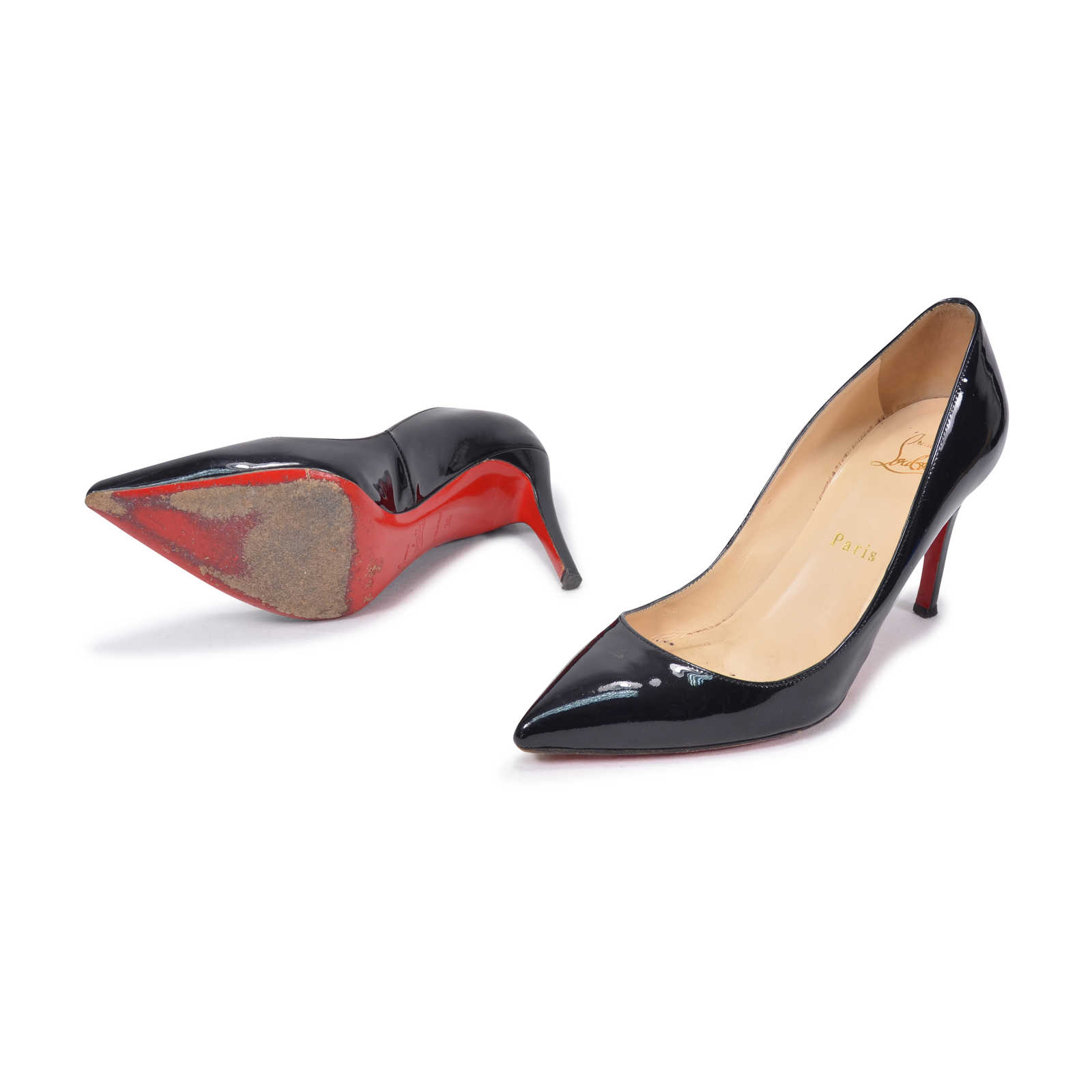 best website 1cc6f 94264 Authentic Second Hand Christian Louboutin Pigalle 85 Patent ...