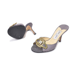 Jimmy choo metallic mules 2?1493269574