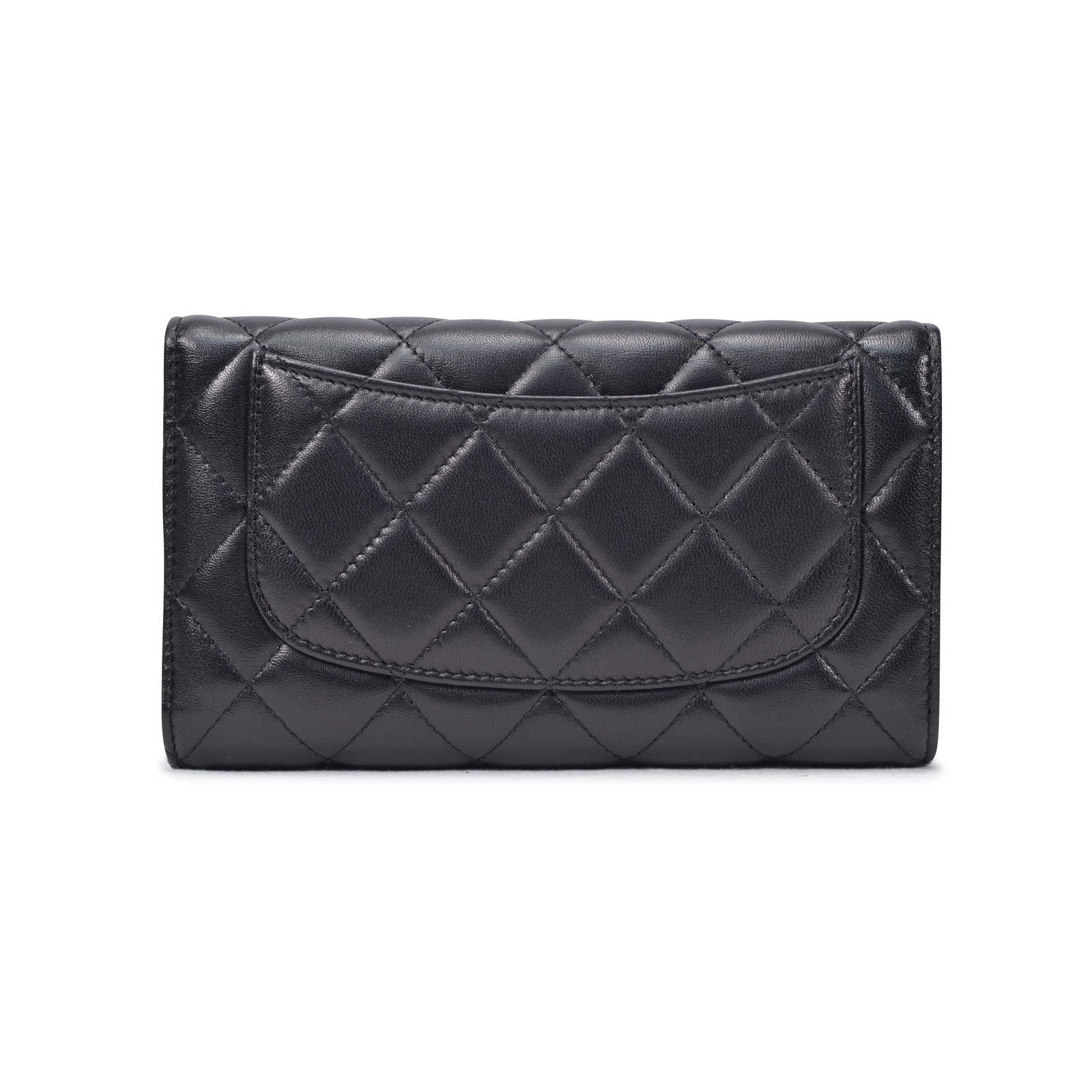 2467c3e7cef8 ... Authentic Second Hand Chanel Quilted Classic Long Wallet  (PSS-334-00012) ...