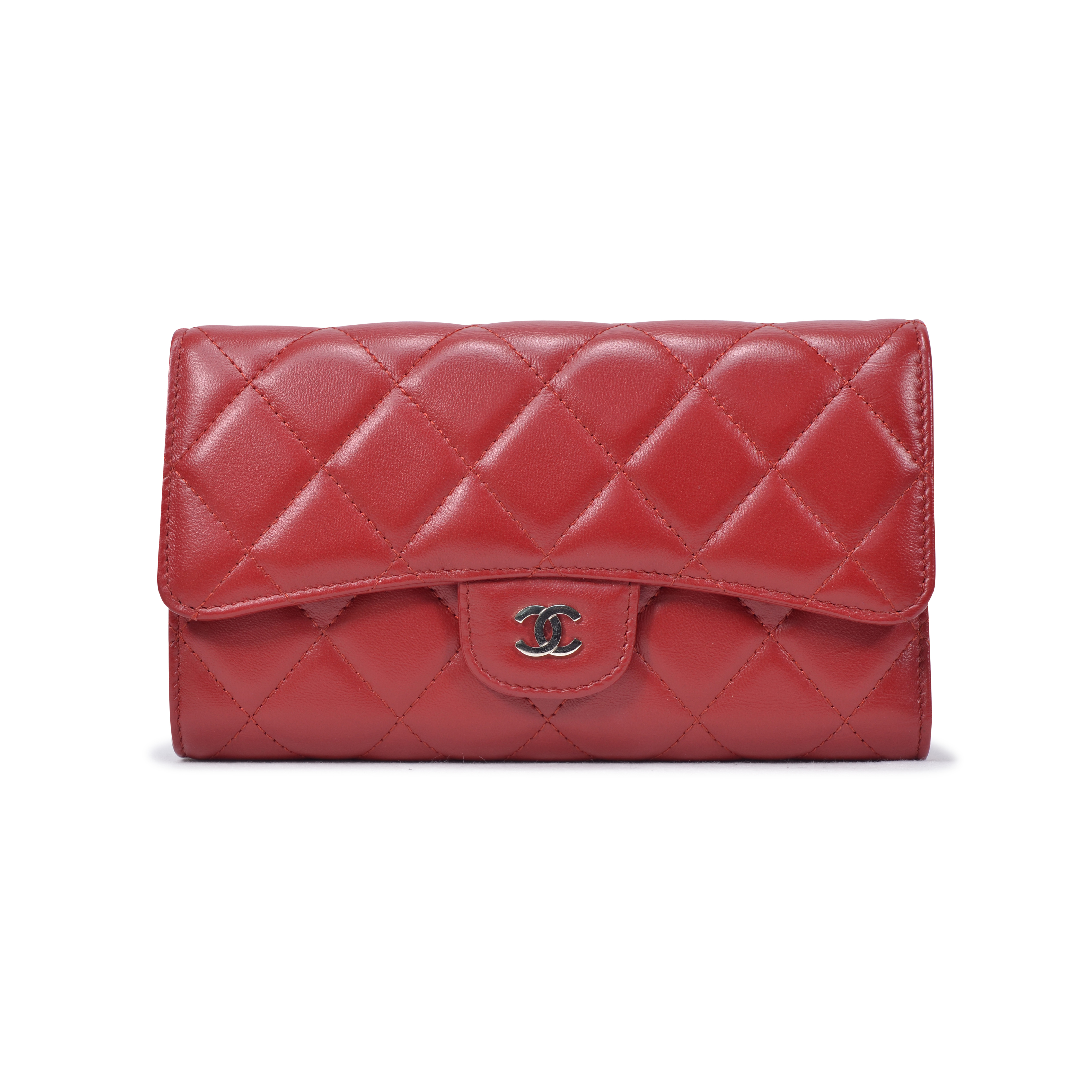 3042a603f3d5 Authentic Second Hand Chanel Quilted Classic Long Wallet (PSS-334-00011) |  THE FIFTH COLLECTION
