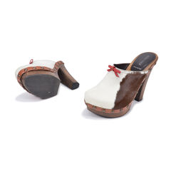Miu miu cow print pony hair clogs 2?1493271525