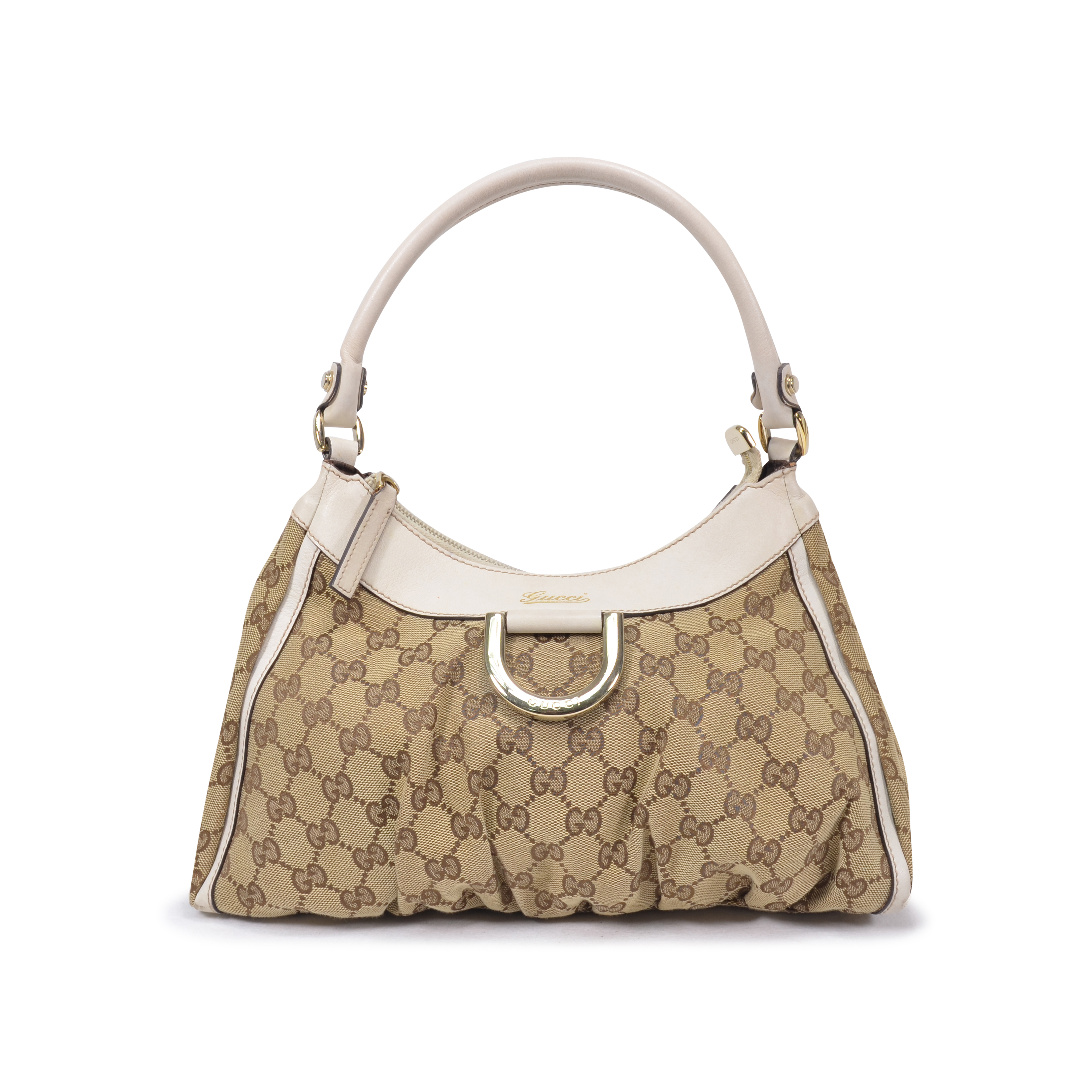 fce3867a079d Authentic Second Hand Gucci Monogram Canvas Shoulder Bag (PSS-325-00007) |  THE FIFTH COLLECTION