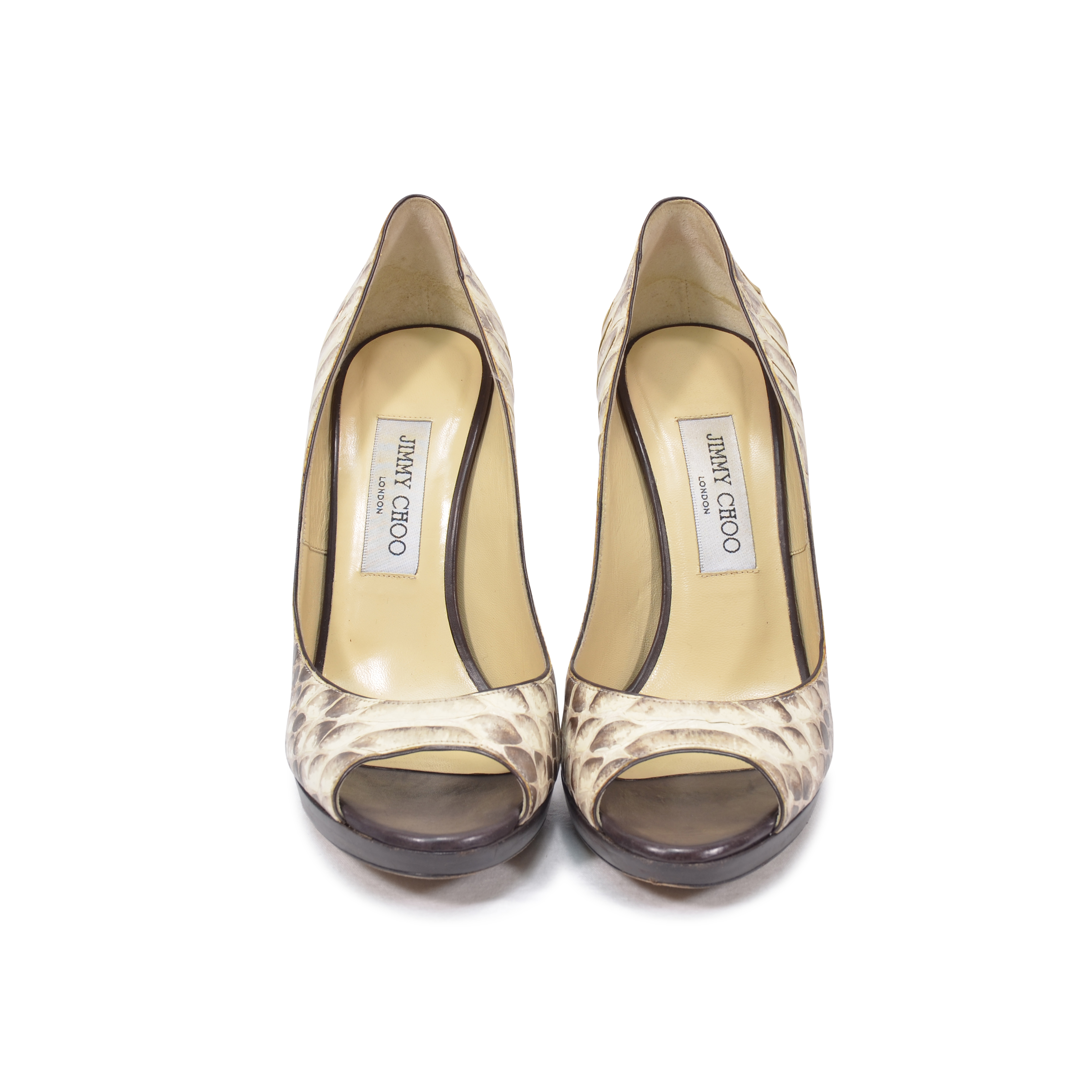 b18f1e1138e2c ... uk authentic pre owned jimmy choo python proud pumps pss 325 00010 the  fifth collection 6fa0c