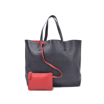 Authentic Second Hand Jil Sander Leather Tote Bag (PSS-145-00137)