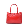 Authentic Second Hand Longchamp Roseau Croco Tote (PSS-336-00021) - Thumbnail 1