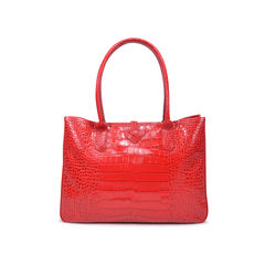 Longchamp roseau croco tote red 2?1493702901