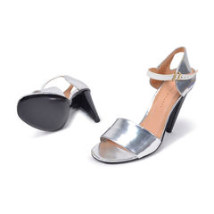 Roland mouret silver sandals 2?1493705966