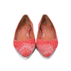 Pointed Woven Flats