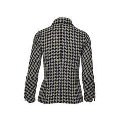 Chanel houndstooth tweed jacket 2?1493800776