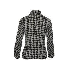 Chanel houndstooth tweed jacket 2?1493800776