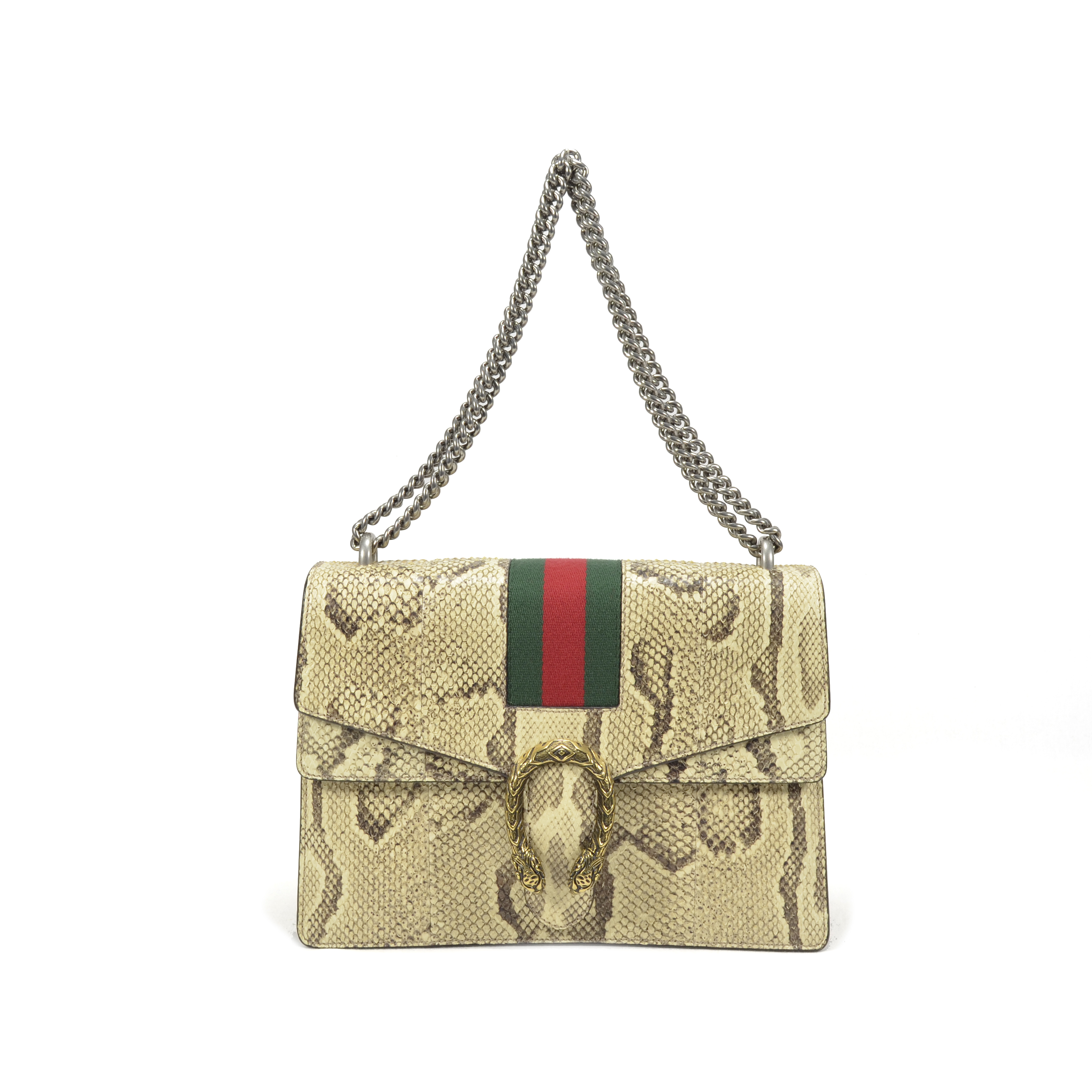 c4021a65be43 Authentic Second Hand Gucci Dionysus Python Shoulder Bag (PSS-051-00162) |  THE FIFTH COLLECTION