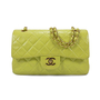 Chanel Chartreuse Classic Double Flap Bag - Thumbnail 0