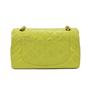 Chanel Chartreuse Classic Double Flap Bag - Thumbnail 1
