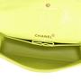 Chanel Chartreuse Classic Double Flap Bag - Thumbnail 3