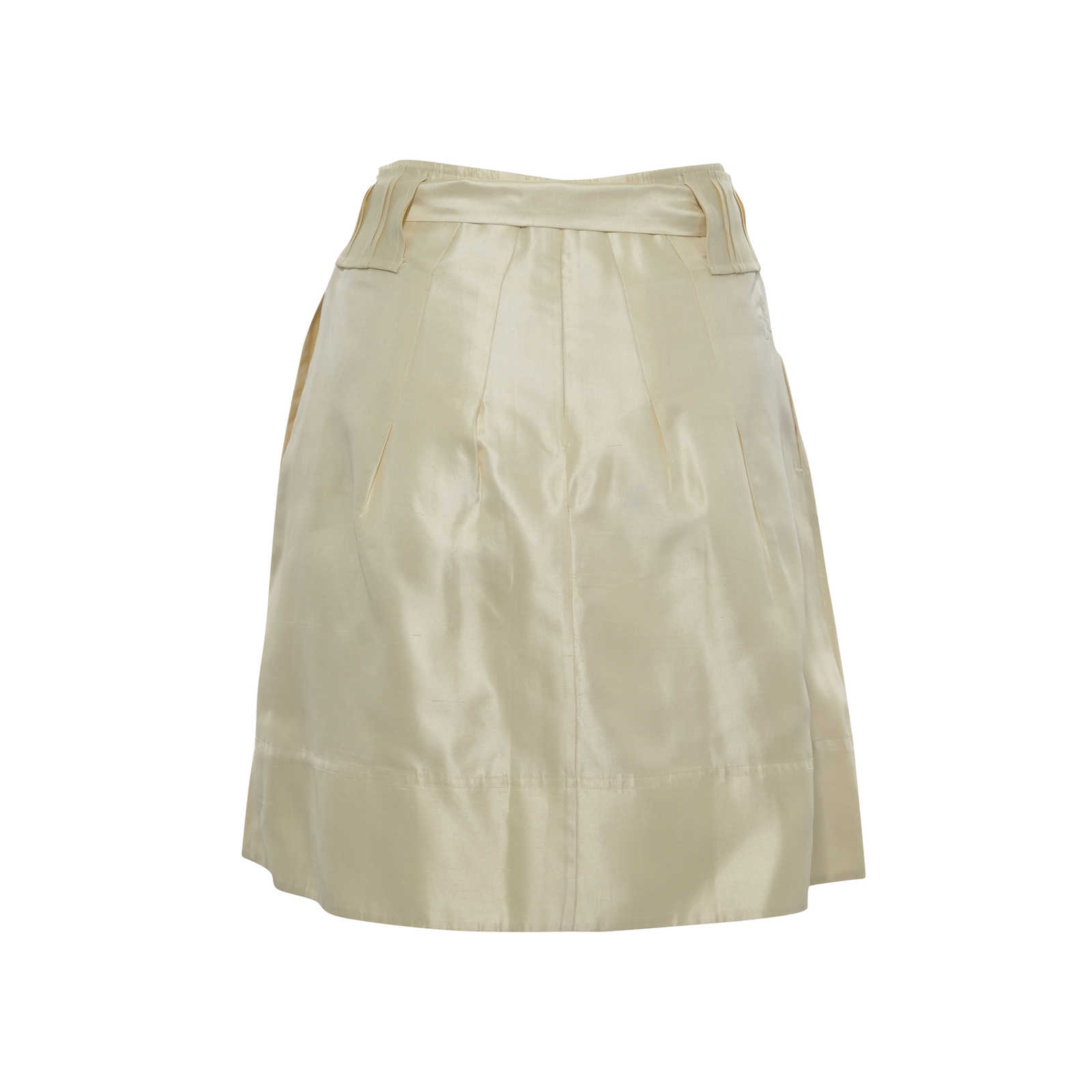 Second Hand Raoul Tie Waist Skirt Neutral | THE FIFTH COLLECTION