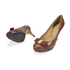 Salvatore ferragamo carla pumps brown 2?1494566311