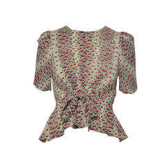 Silk Printed Top