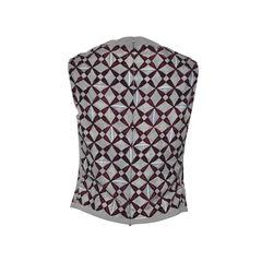 Balenciaga printed sleeveless top 2?1494568770
